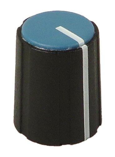 Blue Knob for EV ZXA1 (5-Pack)