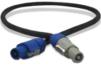 Lex Products Corp PE700J-2-PCN  2 ft. PowerCon Extension Cable (20A, 120 VAC) PE700J-2-PCN