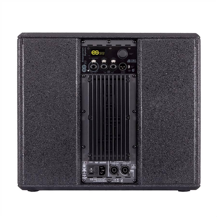 DB Technologies ES 503 Tri-Amp Entertainment Stereo System ES503