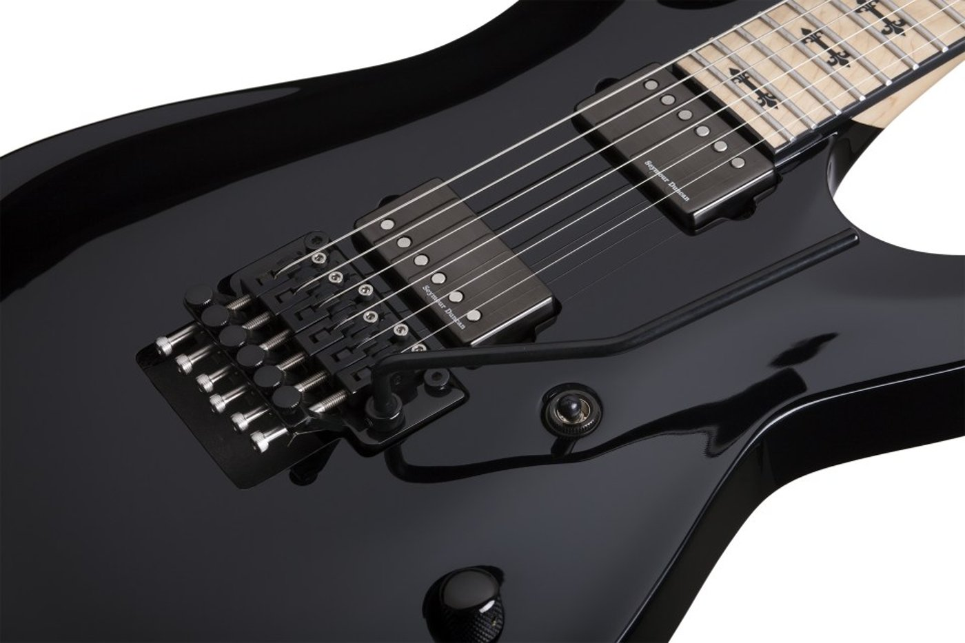 Electric Guitar, Black Finish