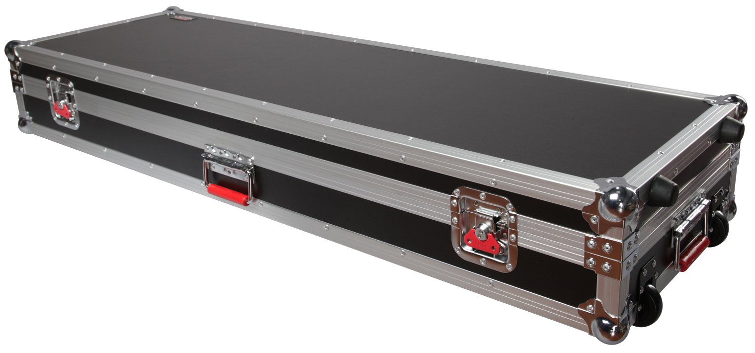 ATA Wood Flight Case for Most Slim 88 Note Keyboards