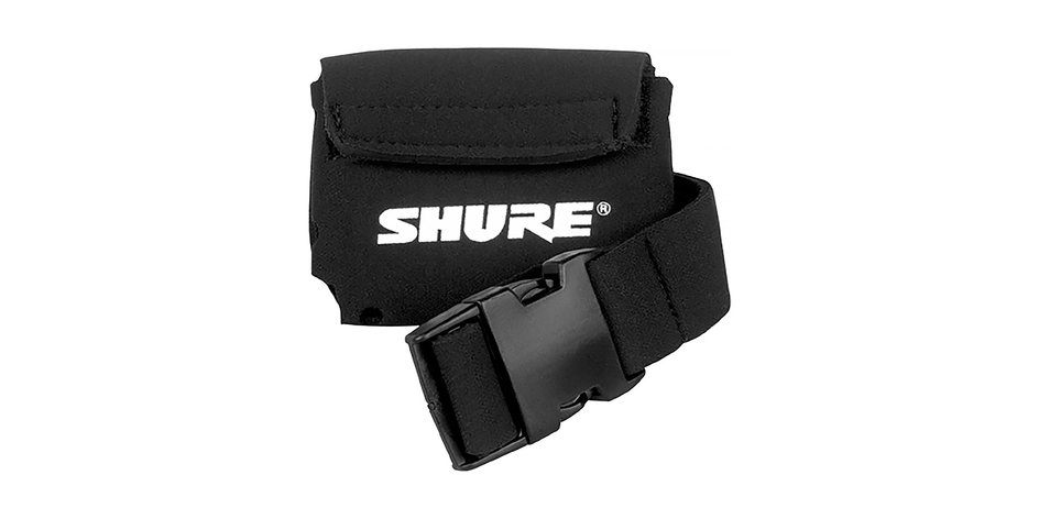 Belt Pouch for Bodypack Transmitters