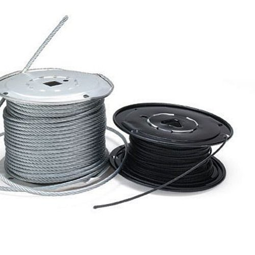 """500 ft. Spool of Powder Coated Black 1/16"""" Cable"""