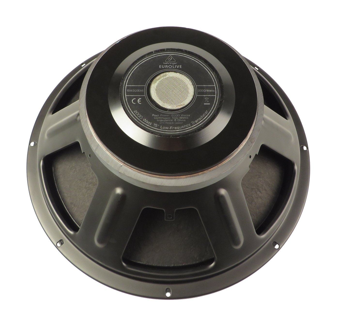 Behringer X77-00000-03607 Woofer for B1500D-PRO X77-00000-03607