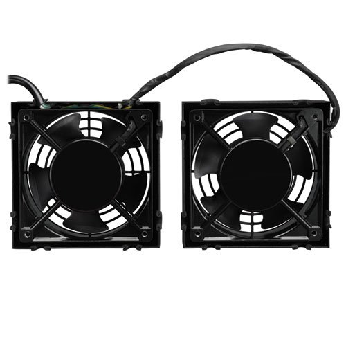 with 2 120V High-Performance Fans