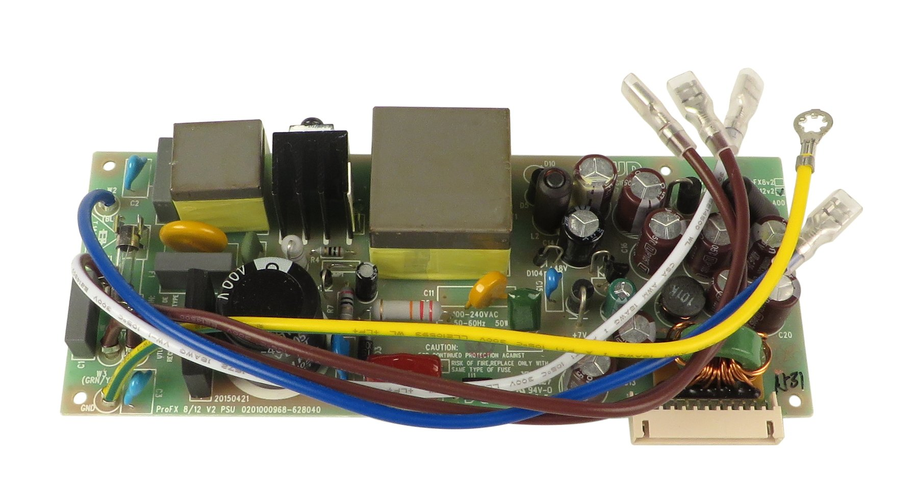 Mackie BP-2045531-01 Power Supply PCB for ProFX12v2 BP-2045531-01