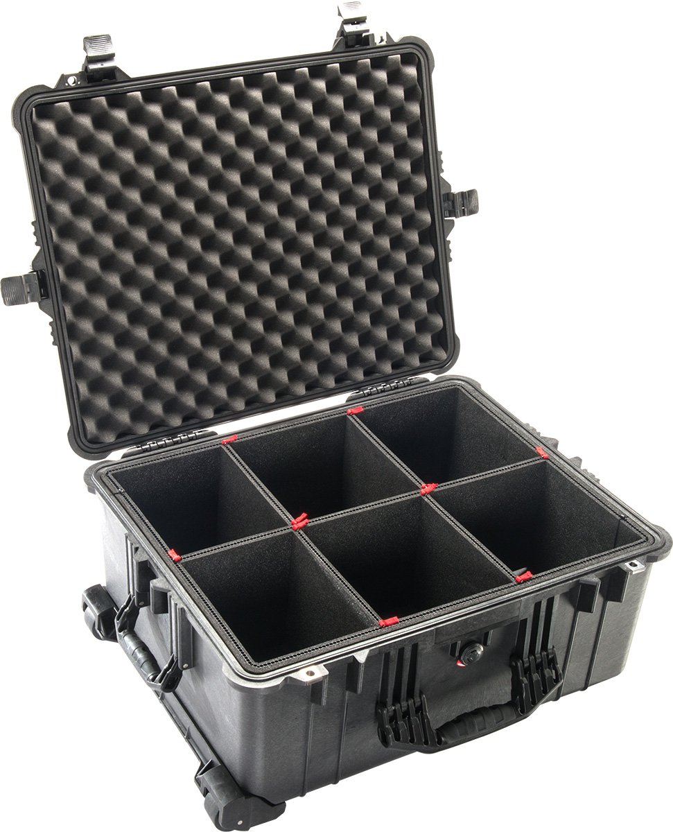1610 Large Case with TrekPak Case Divider System