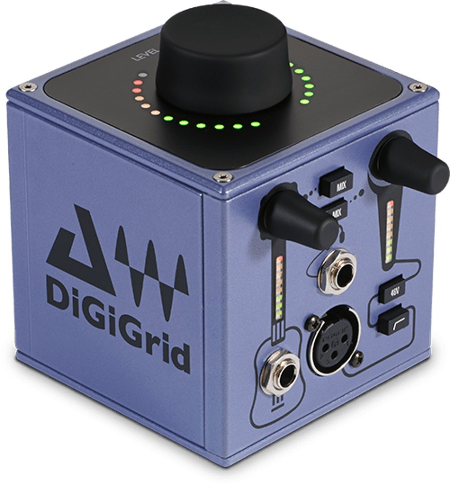 Musician Recording Audio Interface
