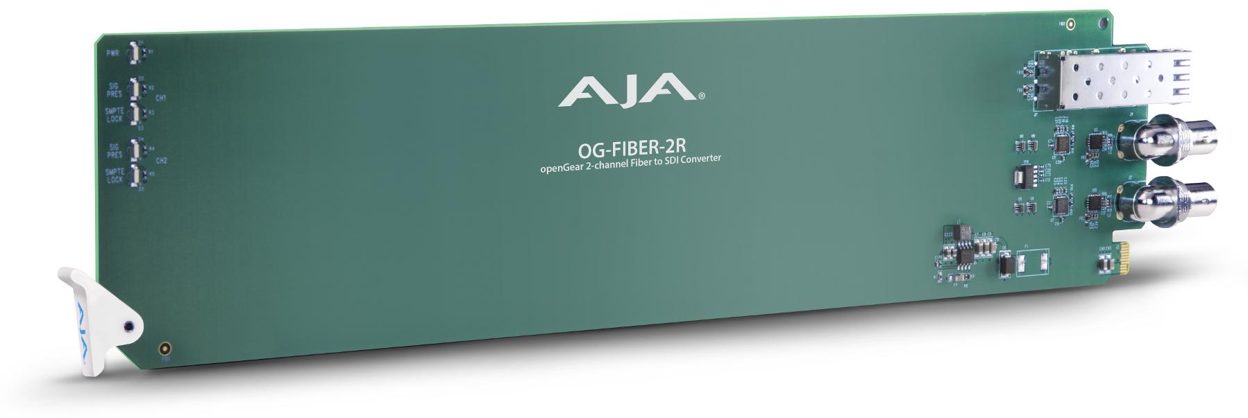 2-Channel openGear Fiber to 3G-SDI Converter
