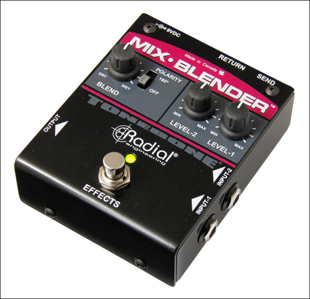 Buffer, Mixer & FX Loop