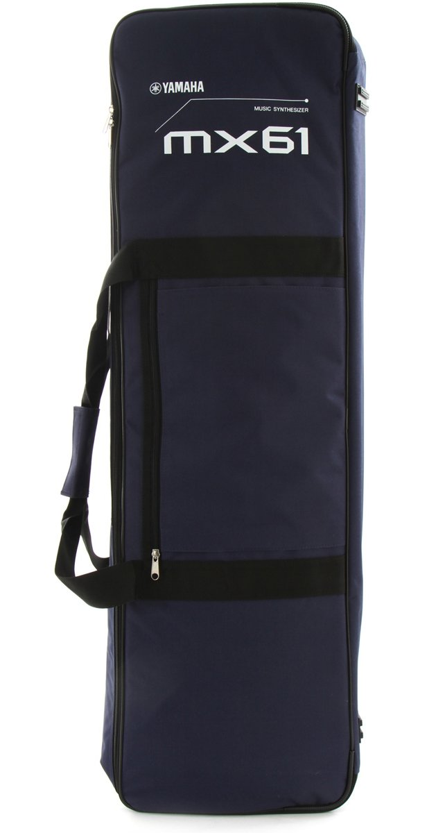 Yamaha mx61 bag padded carry bag for mx61 full compass for Yamaha mx61 specs