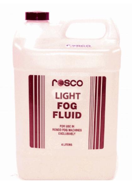 4 Liter Bottle of Rosco Light Fog Fluid