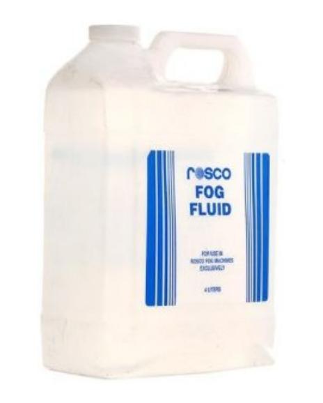 4 Liter Bottle of Rosco Fog Fluid