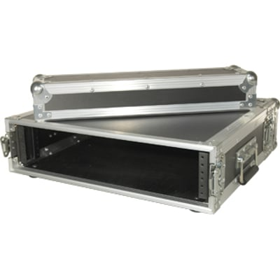 "Amp Rack, With 14.25"" Rackable Depth and 2 Rack Spaces"