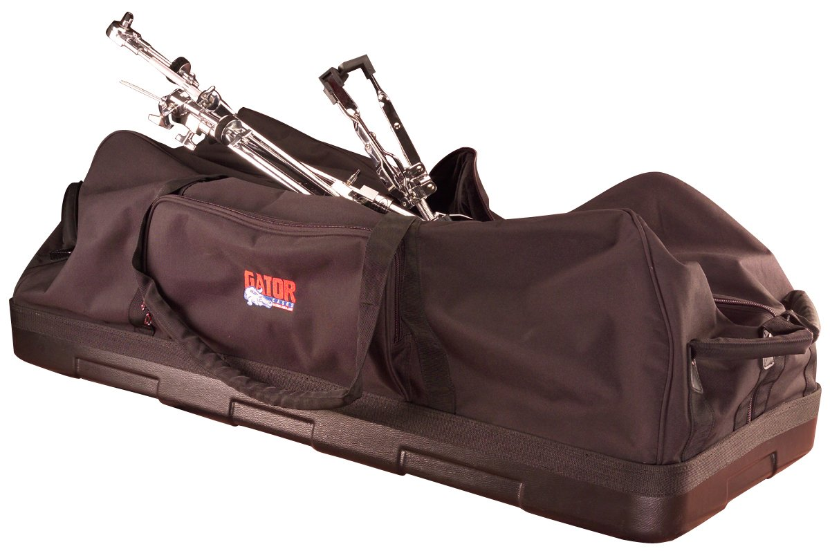 Drum Hardware Bag with Wheels & Molded Reinforced Bottom