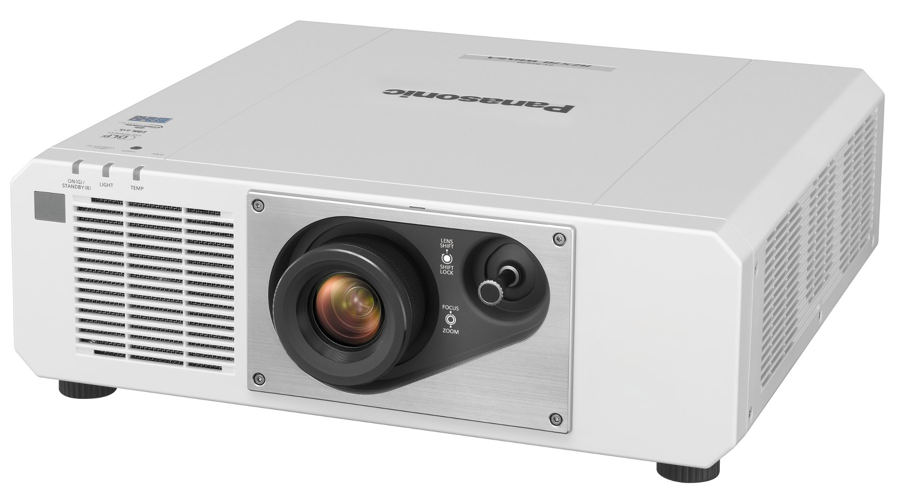5000 Lumens WUXGA 1-Chip DLP Projector in White
