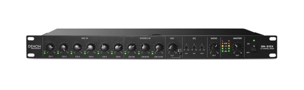 Line Mixer With Priority, 12-Channel