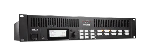 8 Zone Mixer With 4 Zone Amplifier