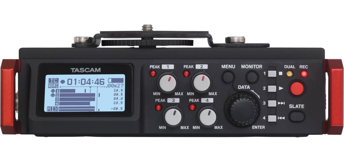 Linear PCM Recorder / Mixer For DSLR Camera