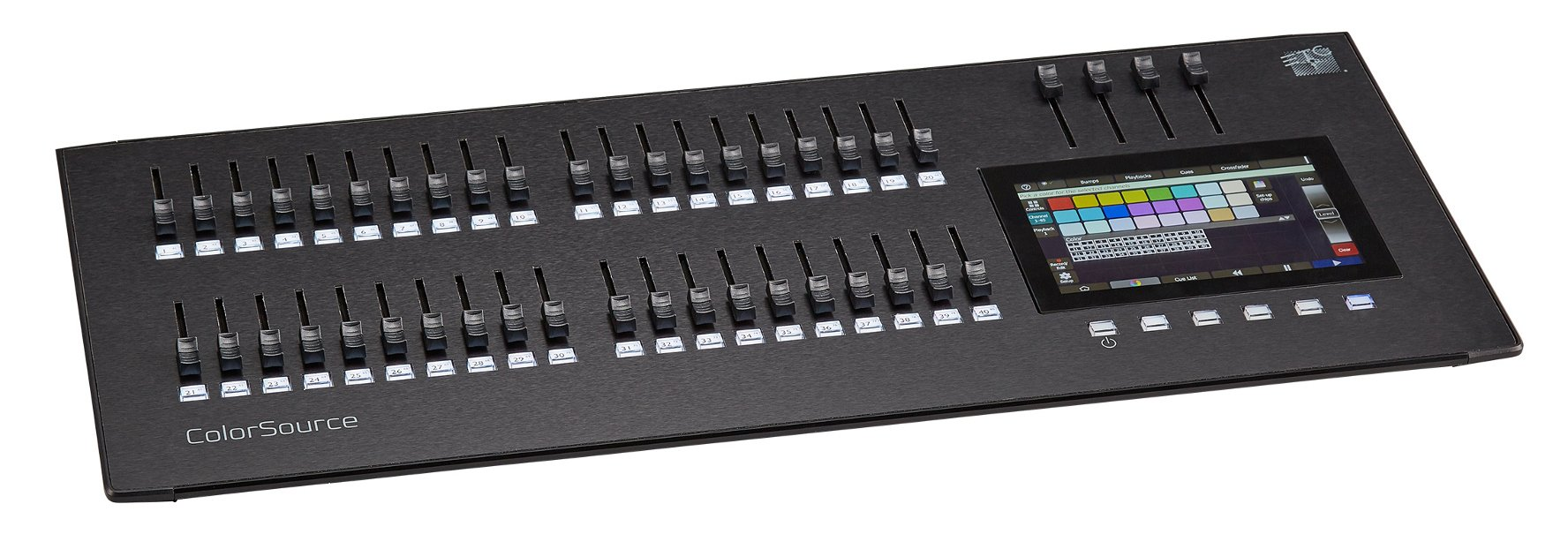 ColorSource 40 Console with 40 Faders and Multi-Touch Display