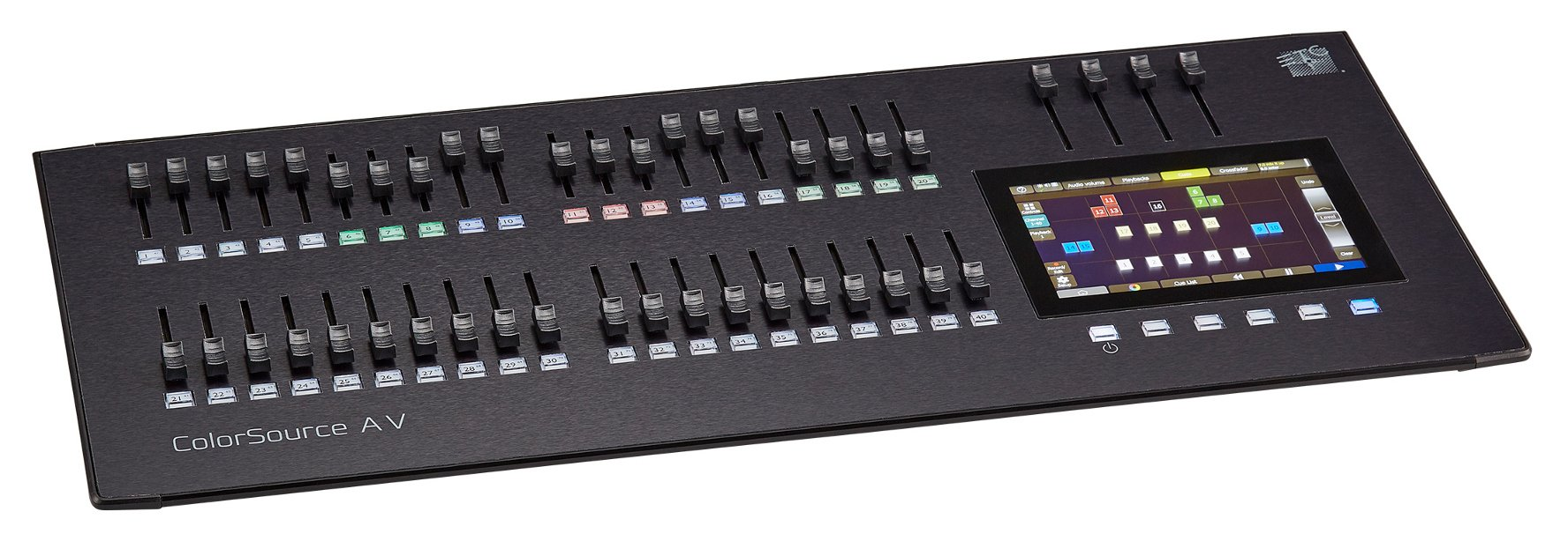 40 Fader Lighting Console with HDMI, Network, and Audio Features