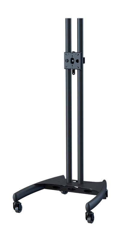 "Mobile Nesting Cart with 60"" Black Poles"