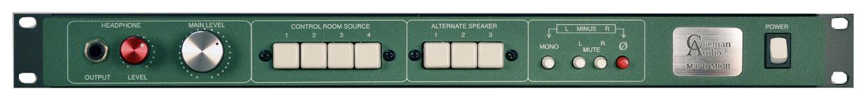 Digital Audio Workstation Monitor Controller