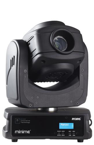 Robe Lighting, Inc Robin MiniMe Compact LED Digital Luminaire with Video Output ROBIN-MINIME