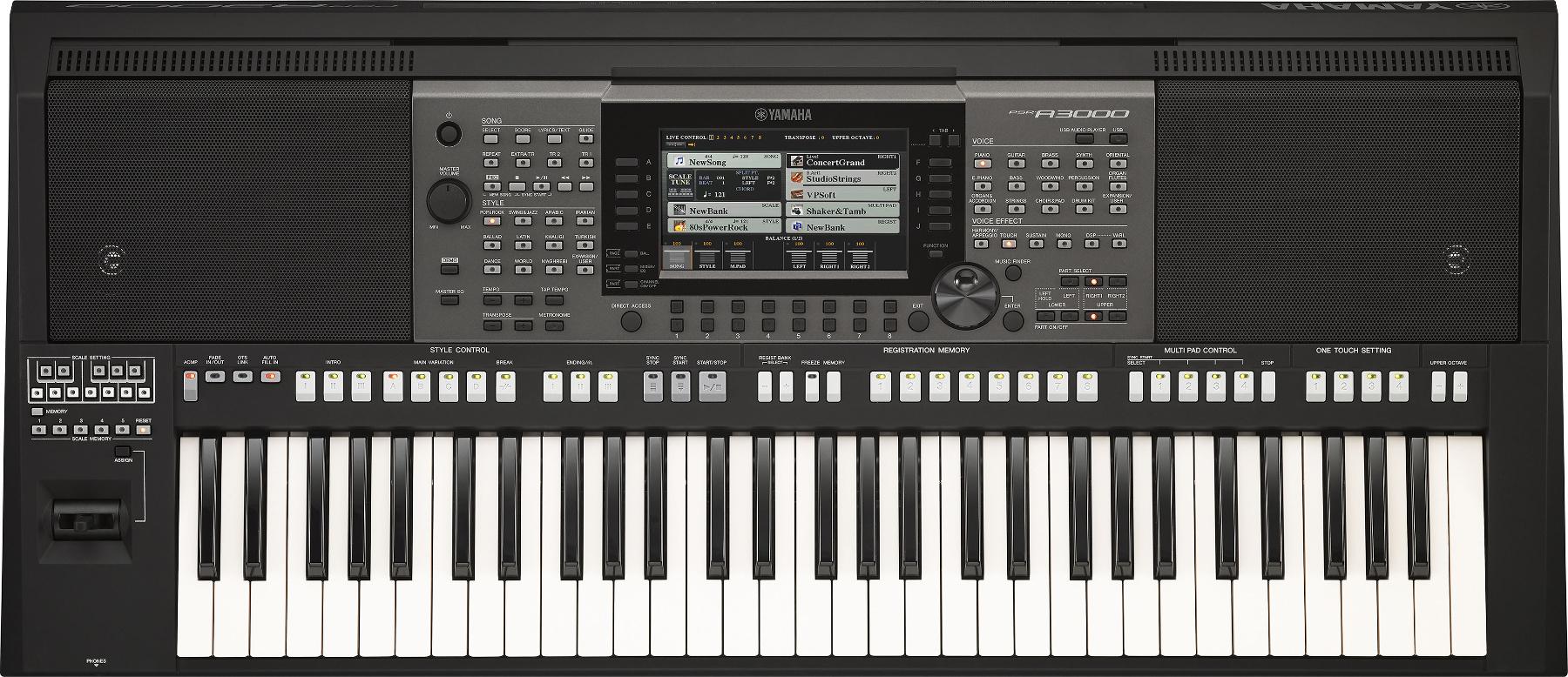 61-Key Arranger Workstation Keyboard