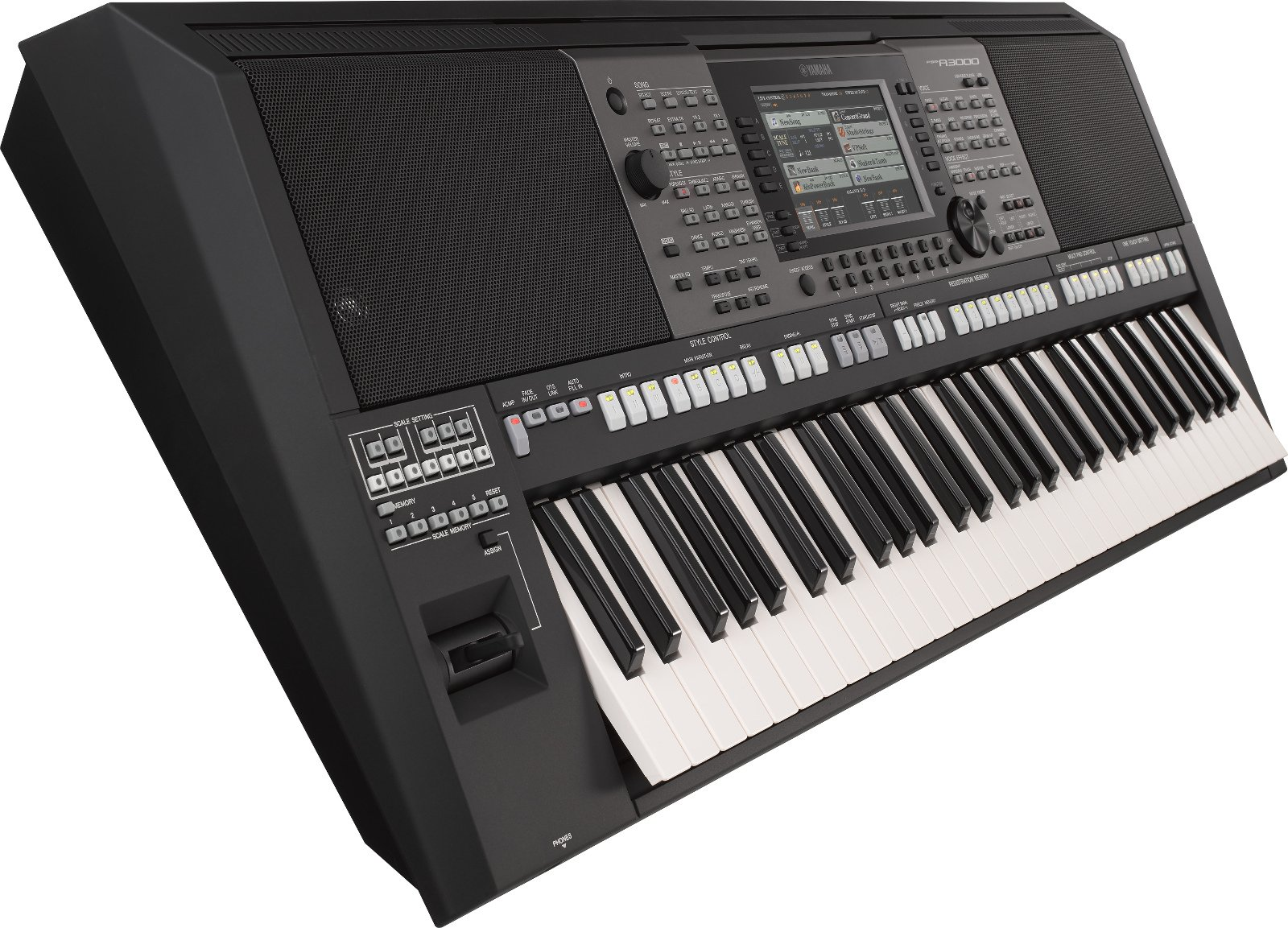 yamaha psr a3000 61 key arranger workstation keyboard