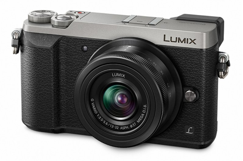 16 MP LUMIX 4K Mirrorless Interchangeable Lens Camera with 12-32mm Lens in Silver