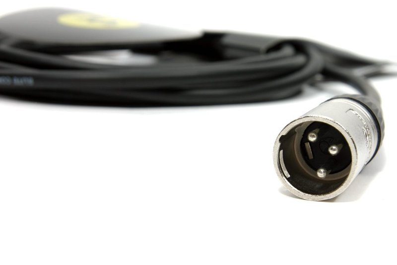 18' Pro Headphone Extension Cable With Remote Volume Control Beltpack