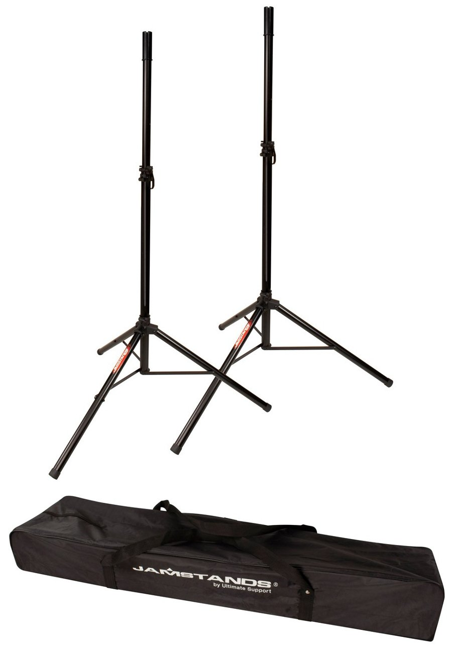 Pair of Tripod Speaker Stands with Carrying Case