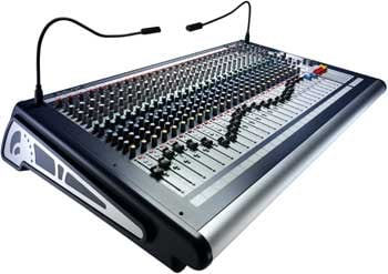 Mixing Console, 24 Channel, 4 Group Buss, 6 x 2 Matrix