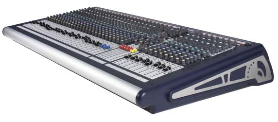 32-Channel Analog Mixing Console with 4 Group Busses and 6 x 2 Output Matrix