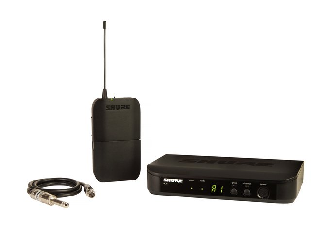 Shure BLX14-H10  Wireless Bodypack System For Bass Or Guitar, H10 Frequency BLX14-H10