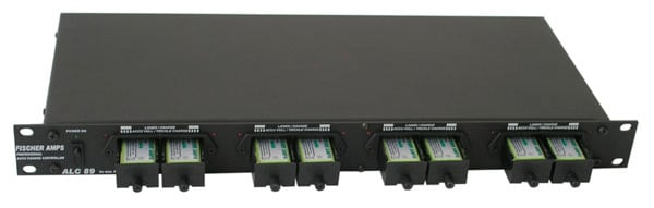 "19"" Rackmount Charger for 8 9V NiMH batteries, by Fischer Amps"