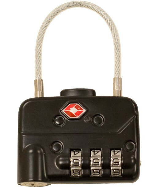 TSA Combination Cable Padlocks