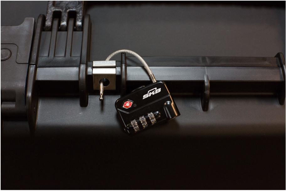 TSA Combination Cable Padlocks
