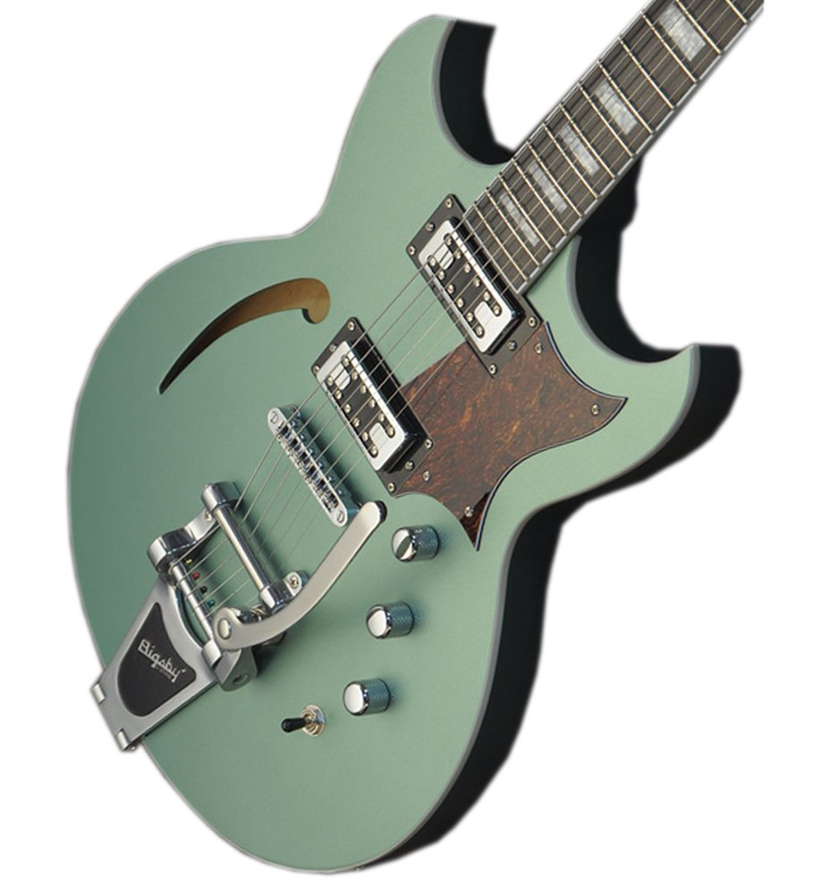 Electric Guitar with Semi-Hollow Korina Body