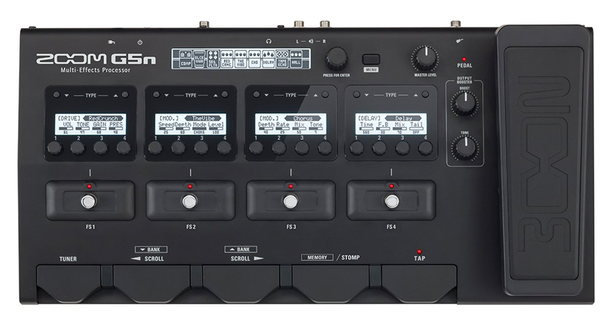 Multi Effects Processor for Guitarists