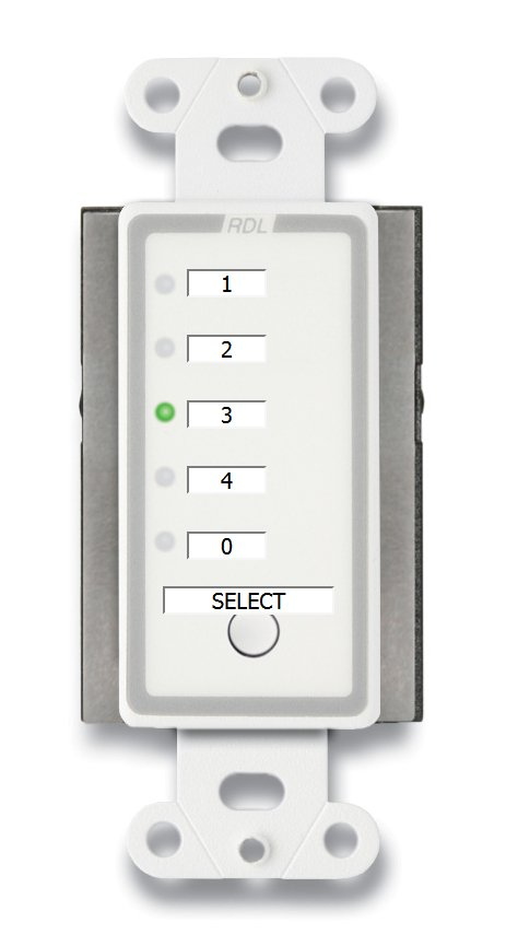 Remote Channel Selector - 4 Channels