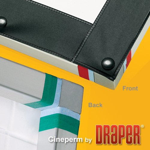"Draper Shade and Screen 251065 123"" Cineperm Screen, 16:10 Matte White 251065"