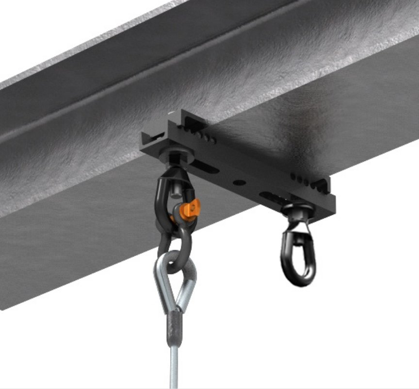 Channel Style with Two Off-Set Suspension Points