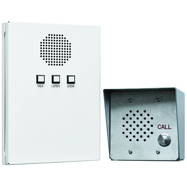 All-In-One Intercom System, Indoor And Outdoor Station