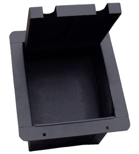 Pocket Mini Floor Box with Pre-Punched Plate for (4) D-Series Connectors