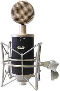 Multipattern Tube Condenser Microphone w/ Shock Mount & Case
