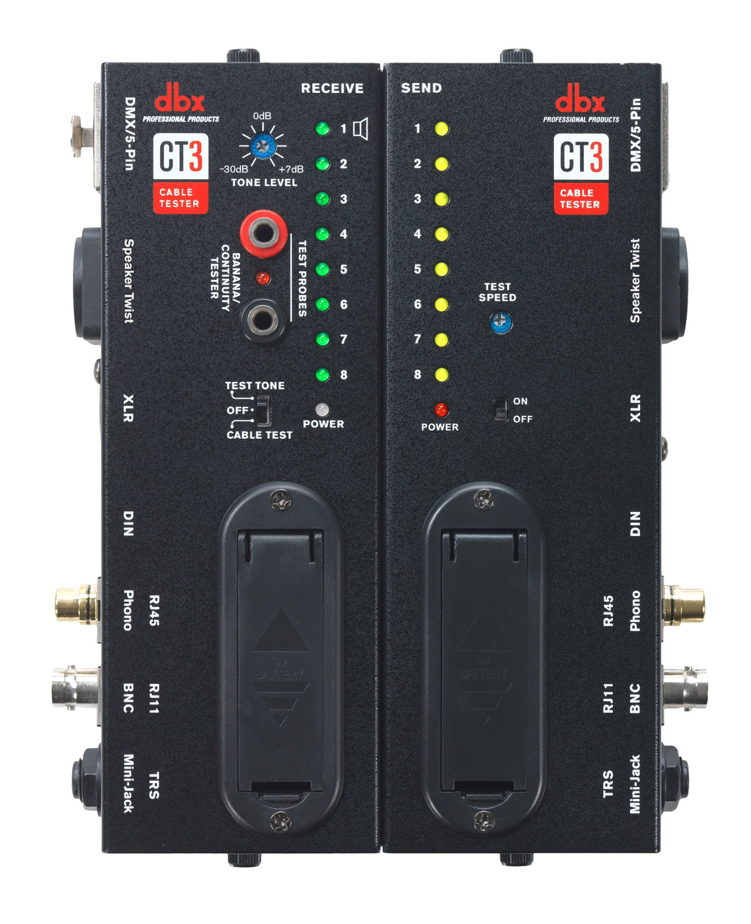 Advanced Cable Tester with Split Design