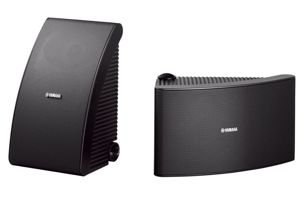 All-Weather Speakers, Black, Sold As A Pair