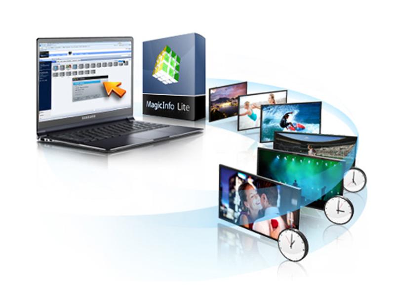 Samsung CY-MILSSTS MagicInfo Lite Content Management Solution